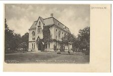 Vintage Postcard Brunswick Maine Bowdoin College Memorial Hall UDB Early 1900's