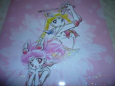 Sailor moon ITS DEMO Prism Stars Sparkling Glitter Shinny File Folder Holder # 3