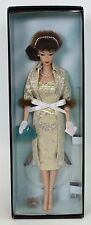RARE EVENING SPLENDOR BARBIE BRUNETTE PLATINUM PARIS FASHION DOLL FESTIVAL NRFB