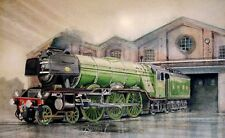 Steam Train Diamond Painting Kit 30 x 40 cm like cross stitch