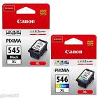 CARTUCCIA CANON CL 546XL+PG 545XL ORIGINALI x Pixma MG2450 MG2550 IP2850