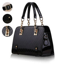 Ladies Women Handbag Shoulder Bags Tote Purse Faux Leather Messenger Party Bag