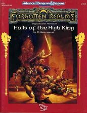 FA1 HALLS OF THE HIGH KING EXC+! Forgotten Realms Dungeons Dragons Module D&D