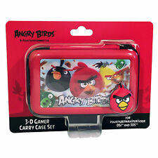 DSi 3DS Case Nintendo Angry Birds Game Red Holder Carry Cover Set Accessories Ba