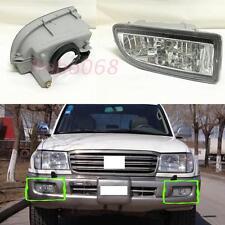 2*For Toyota Land Cruiser 4700 FJ100 1998-07 Fog/Driving Lights Housing No Bulbs