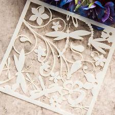 Blume Stencils DIY Cutting Dies Scrapbooking Tagebuch Stanzschablone Werkzeug