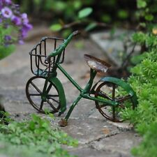 Garden Lawn Patio Mini Bicycle Green Decor Outdoor Decoration New Gift