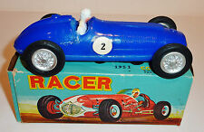 HONG KONG Plastic Friction 1951 GRAND PRIX RACE CAR with BOX ~ 6-inch