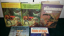 Nelson Doubleday LOT Amber 1 2 Zelanzy Dragonriders Many-Colored Riddle Of Stars