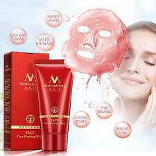 Purifying Peel Off Black Facial Mask Remove Blackhead Strawberry Nose Acne 50g