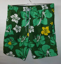 "TOPMAN swim / casual shorts to fit waist 32 - 34"" 81 - 86 cm tropical hula girls"