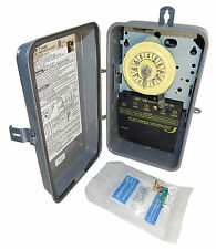 Intermatic T104R3 Steel Enclosure  208-277V DPST Multi Use Timer