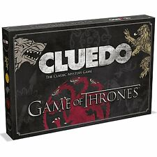 GAME OF THRONES CLUEDO BOARD GAME / AGE 18+ / BASED ON THE HIT TV SERIES