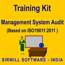 Management System Auditor Training Kit (ISO9001/ISO14001/ISO27001/OHSAS18001)