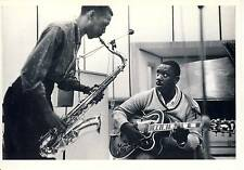 CARTE POSTALE / POSTCARD / WILLIAM CLAXTON / WES MONTGOMERY & JAMES CLAY