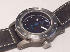 STEINHART APOLLON 30 ATM AUTOMATIC, SWISS MADE, 3 BEZELS, EXTRA LEATHER STRAP