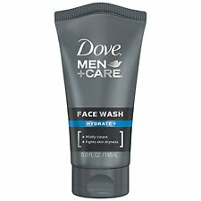 2 Pack Dove Men+Care Hydrate+ Face Wash 5.0 Oz Each