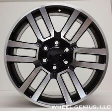 "20"" Toyota 4Runner GX-470 GX-460 Tacoma Rims Wheels 07 - 15 Gun Machined Black"