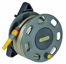 Hozelock Wall Mounted Compact Reel with 15m Hose