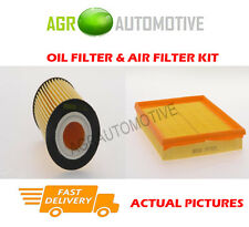 PETROL SERVICE KIT OIL AIR FILTER FOR OPEL ZAFIRA 1.6 116 BHP 2008-