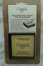 GLASTAR Soldering Iron Sponge Tip Cleaner Stained Glass Supplies Tools Gadgets