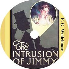 The Intrusion of Jimmy, P. G. Wodehouse Audiobook Fiction English on 1 MP3 CD