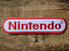 ECUSSON PATCH aufnaher toppa THERMOCOLLANT NINTENDO geek nes 64 super gamecube