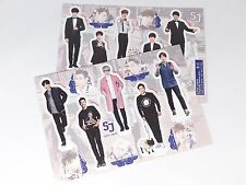 SUJU Super Junior Standing Paper Doll Korean Drama Star KPOP Paper Doll