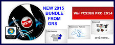 #1 2014 WinPCSIGN PRO CUTTING PLOTTER SOFTWARE with RHINESTONE. WIN 10, 8, 7, XP
