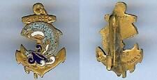 Insigne en réduction - Indochine 21° Régiment infanterie coloniale dauphin bleu