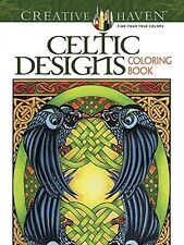 Creative Haven Celtic Designs Coloring Book (Adult Coloring), New, Free Shipping