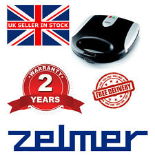 # NEW Electric Kitchen ZELMER (BOSCH) ZSM2001X 800W SANDWICH TOASTER EASY CLEAN#