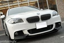 BMW F10 F11 M PERFORMANCE AERODYNAMIC AERO SPOILER LIP tech FRONT BUMPER Sport