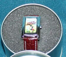 NICE RARE DISNEY MICKEY MOUSE MADE IN CALIFORNIA QUARTZ WATCH  LIMITED EDITION