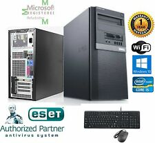 Dell Gaming TOWER PC i5 2400 Quad 3.3GHz 16GB 500GB SSD Windows 10 Pro 64 FX 580