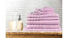 8 Pieces Bath Towels Set Egyptian Cotton 620GSM Spa Quality Multi-Colours