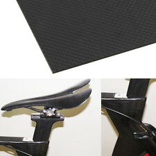 100% Real Carbon Fiber Plate Panel Sheet 3K Plain Weave 200×300×1.5mm US BH