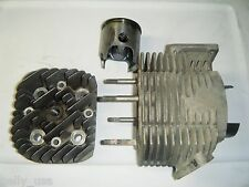 1976 Yamaha Exciter EX 440 Right Cylinder Piston and Head Top End 68.5 mm bore
