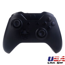 Solid Black Custom Full Set Shell Buttons Kits for Microsoft Xbox One Controller