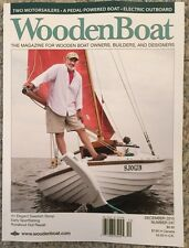 Wooden Boat Two Motor Sailers A Pedal Powered Boat Dec 2015 FREE SHIPPING