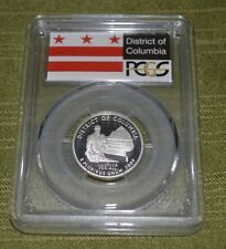 2009 S  District of Columbia  Quarter PCGS PR69DCAM Silver  (M307)