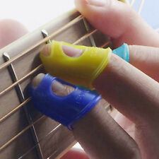 3PCS New Guitar Thumb Picks Bass Finger Picks Plectrum Band Mix Color Liparite