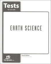 BJU Press Earth Science Tests - 271502