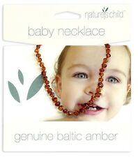 Baby Necklace Genuine Baltic Amber Nature's Child 33cm