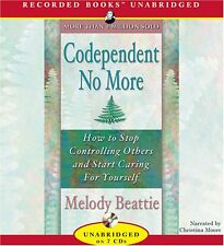 Codependent No More Book By Melody Beattie Audio CD New