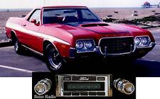 New USA-630 II* 300 watt 1972-79 Ranchero AM FM Stereo Radio iPod USB Aux inputs