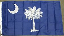 3X5 SOUTH CAROLINA STATE FLAG SC USA US NEW BANNER F270