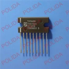 5PCS audio power amplifier IC PHILIPS SIP-9 TDA1521