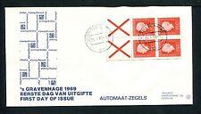 FDC met postzegelboekje PB 9, Philato, blanco/open
