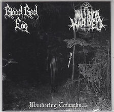 BLOOD RED FOG / MUSTA KAPPELI - wandering towards 7""